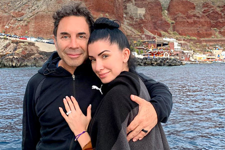 "Dr. Paul Nassif and Brittany Pattakos Are ""Honeymooning the Right Way"" Through Greece"