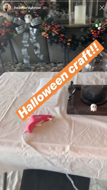 Heather Dubrow Halloween Trees Decoration 01