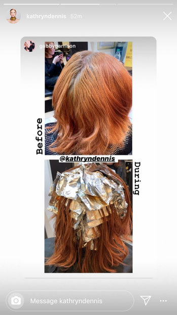 Kathryn Dennis Brazilian Blowout Hair 03