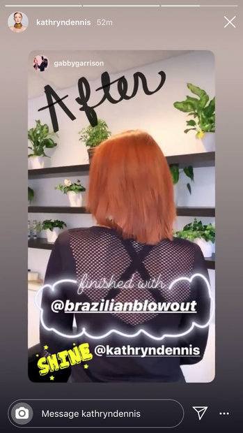 Kathryn Dennis Brazilian Blowout Hair 04