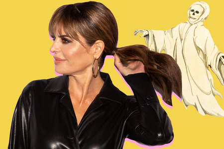 Lisa Rinna Is in Distress at a Restaurant