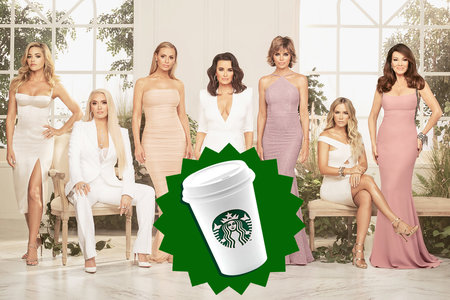 Now We Know What the Real Housewives of Beverly Hills Order at Starbucks