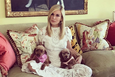 Tinsley Mortimer Dogs Rescue Rhony