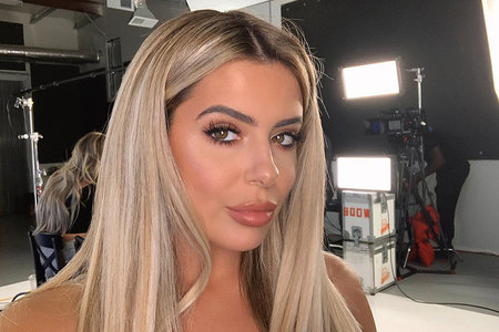 """Brielle Biermann Introduces Her New """"Lil Baby"""" to Her Mom and Dad"""