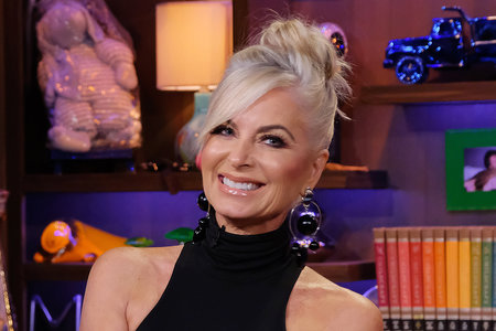 Eileen Davidson Dyes Lob Hairstyle Dark Blonde