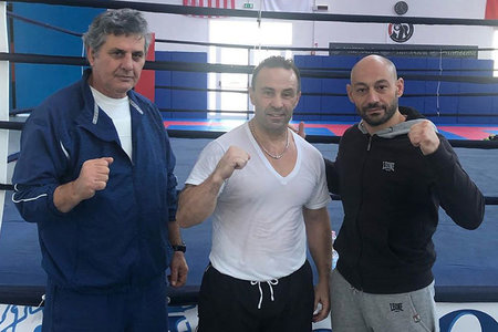 Joe Giudice Italy Mma Training
