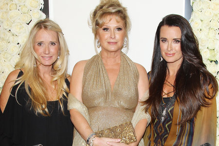 Kim Kyle Richards Kathy Hilton