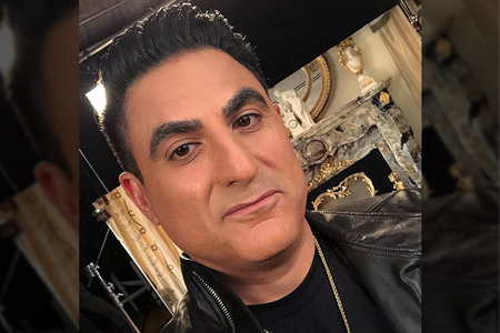 Reza Farahan Smile Teeth Shahs