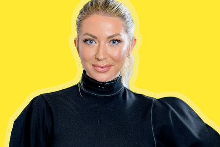 Stassi Schroeder Hot Dog Food Promote