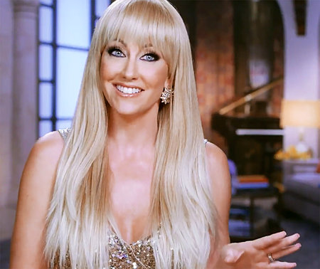 Stephanie Hollman Gets Rhod Interview New Bangs Hairstyle