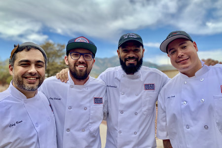 4 Top Chef Alumni Found Common Ground with Military Chefs During a USO Tour