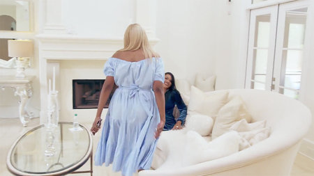 Nene Leakes White Living Room 3