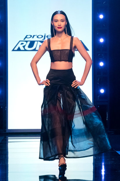 Project Runway 1808 Final Outfit 15