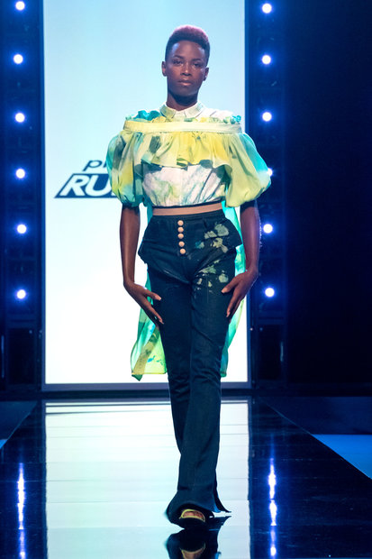 Project Runway 1810 Final Outfit 07