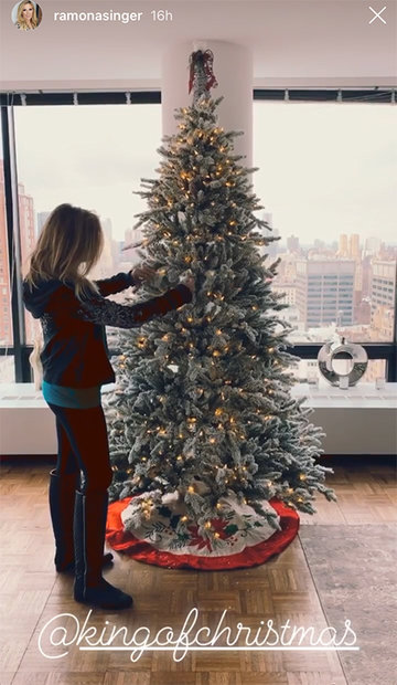 Ramona Singer Christmas Tree 1