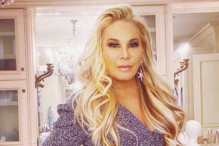Adrienne Maloof Pink Hair