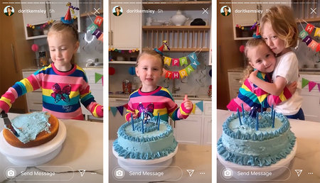 Dorit Kemsley Kids Baked Cake 1