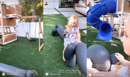 Dorit Kemsley Rhobh Backyard Kids 01