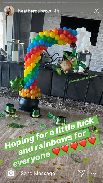 Heather Dubrow St Patricks Day Rhoc 01