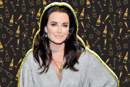 Kyle Richards Champagne Daughter Rhobh
