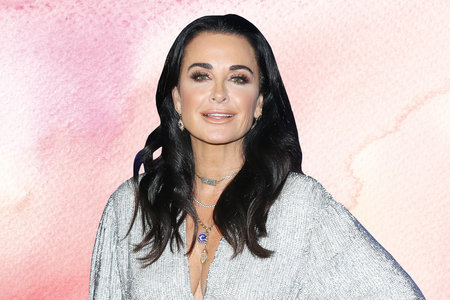 Kyle Richards Stress Cooking