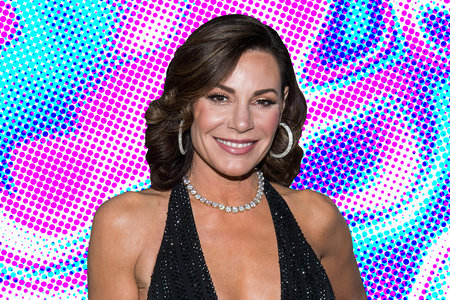 Luann De Lesseps Throwback