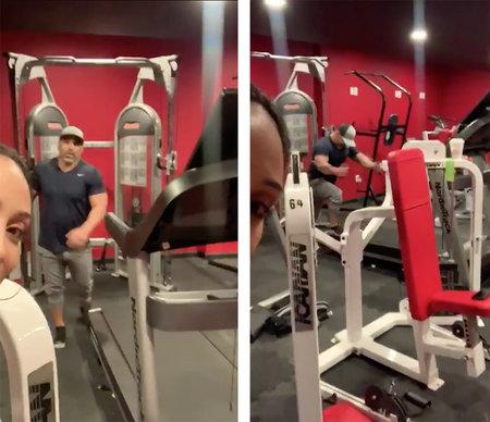 melissa gorga shows inside stateoftheart basement gym