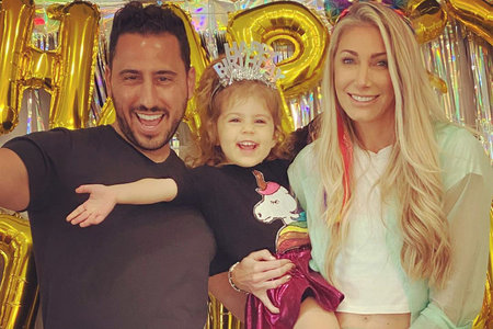 Heather Josh Altman Daughter Birthday