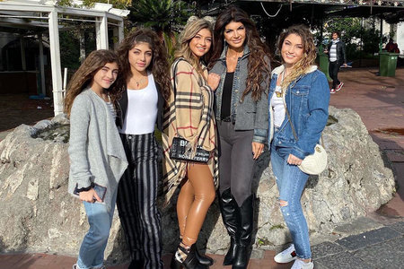 Teresa Giudice Coronavirus Quarantine Activities