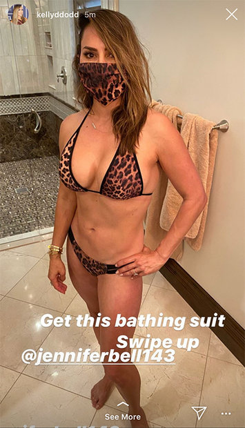 Kelly Dodd Swimsuit 1