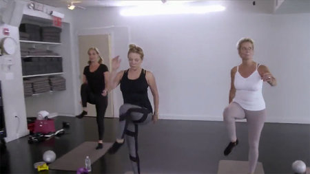 Ramona Singer Workout 1