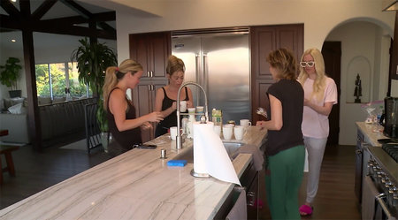 Rhobh House Tour Kitchen 1