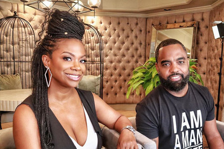 Kandi Burruss Todd Tucker New Restaurant