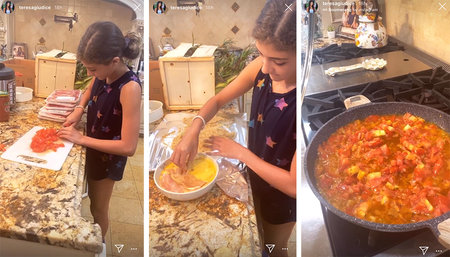 Teresa Giudice Says Nonno Would Be Proud Of Audriana S Cooking Style Living