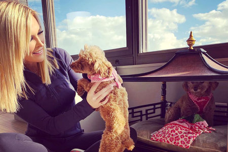 Tinsley Mortimer Pet Dog Update