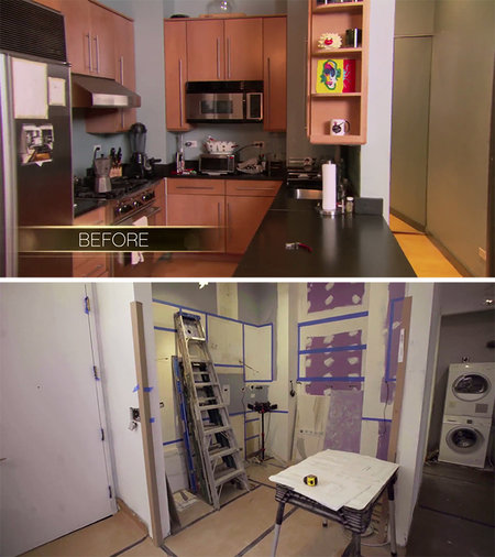 Dorinda Medley Apartment Renovation 1
