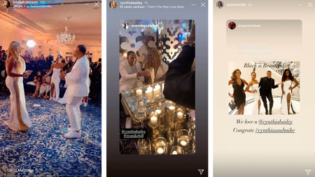 Cynthia Bailey Rhoa Wedding Decorations 01