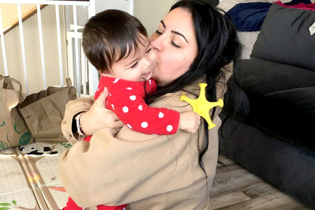Mercedes Shams Javid Baby Pictures