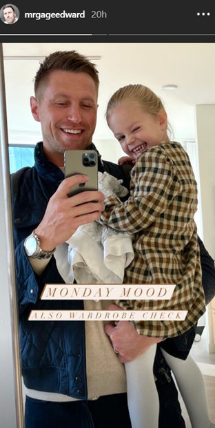 Gage Edwards Daughter Monroe Update 01