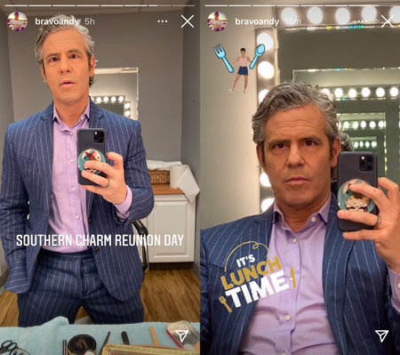 Andy Cohen Southern Charm Reunion