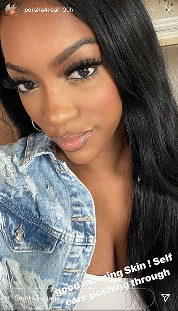 Porsha Williams Glowing Skin 1