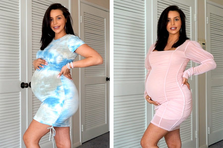 Scheana Marie Maternity Clothes Baby 02