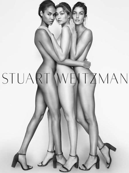 Gigi Hadid Nude For Stuart Weitzmans Latest Shoe Campaign The