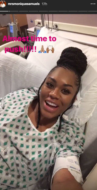 Monique Samuels Gives Birth, Son Chase Omari Samuels: Photos