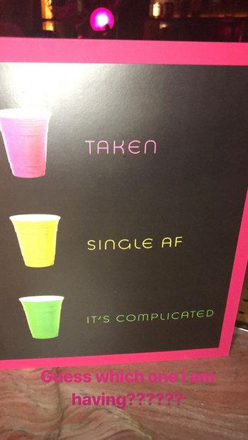 Single taken solo cups