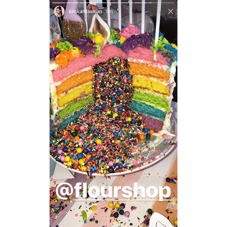 But Did You Think Understated Could Be The Final Word In Kardashian Birthday Cakes Hardly