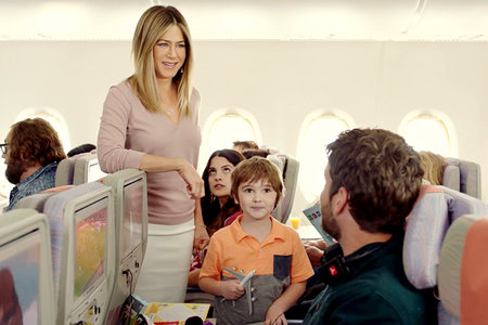 Jennifer Aniston Stars in New Emirates Ad | JetSet