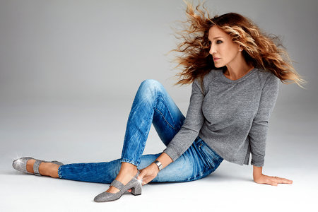 9159903898cf Sarah Jessica Parker s Latest Fashion Project Takes Her to an Unexpected  Location