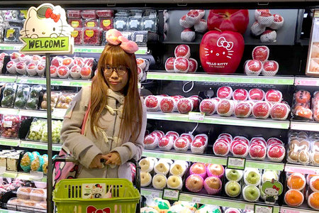 3e113e6a6 There's a Mind-Blowing New Hello Kitty Grocery Store in Hong Kong, Because  of Course