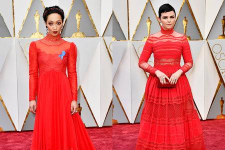 Oscars 2017 Did Ruth Negga And Ginnifer Goodwin Wear The Same Dress